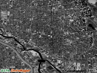 Zip code 60614 satellite photo by USGS