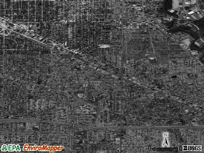 Zip code 60631 satellite photo by USGS
