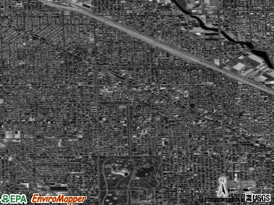 Zip code 60647 satellite photo by USGS