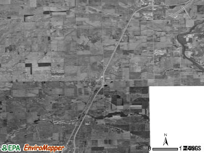 Zip code 60922 satellite photo by USGS