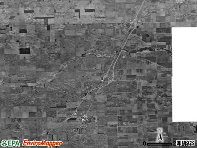 Zip code 60927 satellite photo by USGS