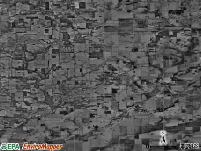 Zip code 61012 satellite photo by USGS