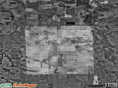 Zip code 61020 satellite photo by USGS
