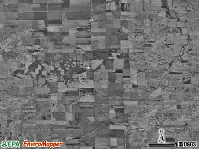 Zip code 61318 satellite photo by USGS