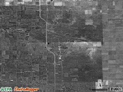 Zip code 61377 satellite photo by USGS