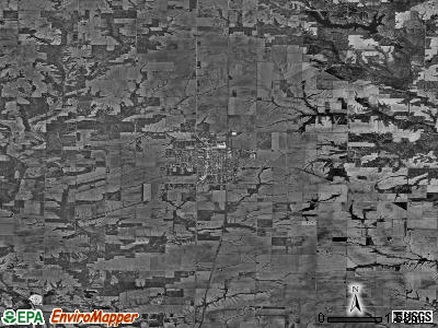 Zip code 61410 satellite photo by USGS