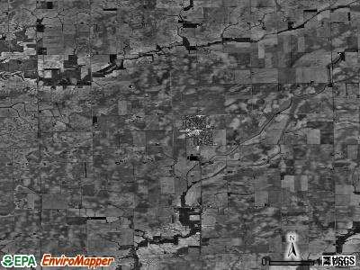 Zip code 61759 satellite photo by USGS