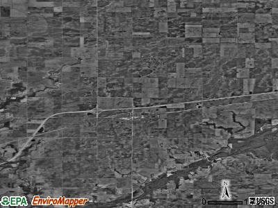 Zip code 61830 satellite photo by USGS