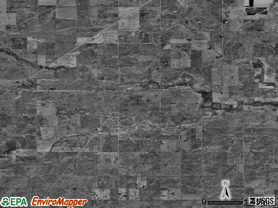 Zip code 61845 satellite photo by USGS