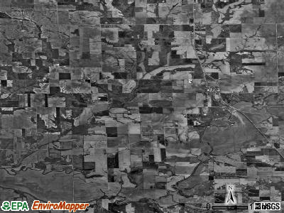 Zip code 62081 satellite photo by USGS