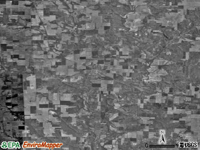 Zip code 62088 satellite photo by USGS