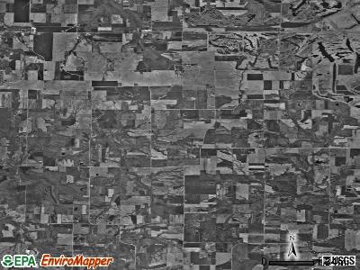 Zip code 62294 satellite photo by USGS