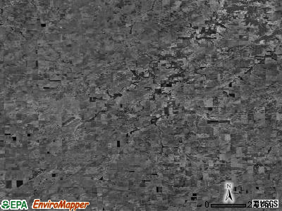 Zip code 62546 satellite photo by USGS