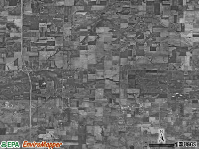 Zip code 62853 satellite photo by USGS