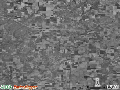 Zip code 62898 satellite photo by USGS