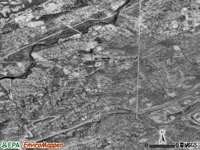 Zip code 07922 satellite photo by USGS