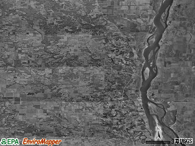 Zip code 63435 satellite photo by USGS