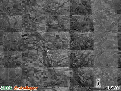 Zip code 63801 satellite photo by USGS