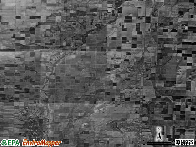 Zip code 63822 satellite photo by USGS