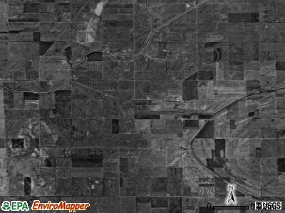 Zip code 63826 satellite photo by USGS