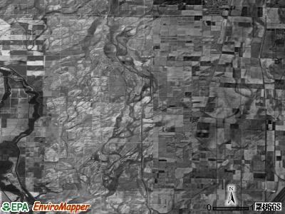 Zip code 63852 satellite photo by USGS