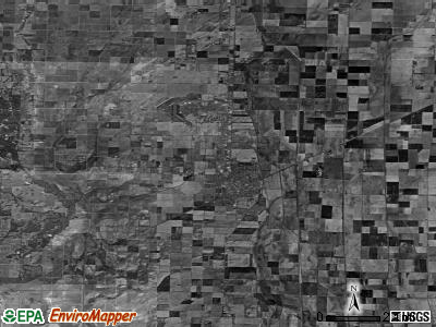 Zip code 63863 satellite photo by USGS
