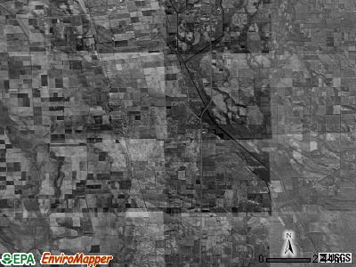Zip code 63867 satellite photo by USGS