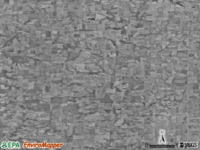 Zip code 64494 satellite photo by USGS