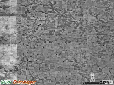 Zip code 64742 satellite photo by USGS