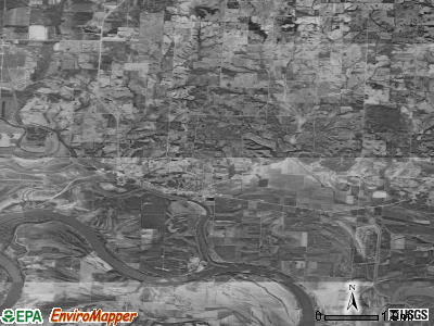 Zip code 65236 satellite photo by USGS