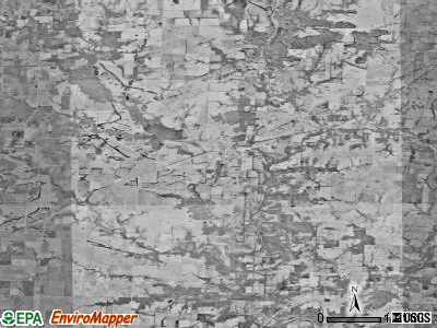 Zip code 65323 satellite photo by USGS