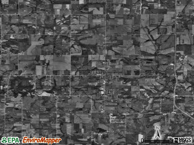 Zip code 66002 satellite photo by USGS