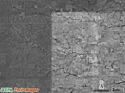 Zip code 66431 satellite photo by USGS