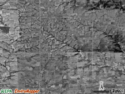 Zip code 66440 satellite photo by USGS