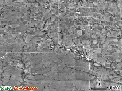 Zip code 66531 satellite photo by USGS