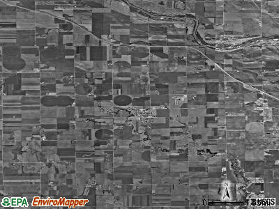 Zip code 67030 satellite photo by USGS