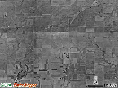 Zip code 67049 satellite photo by USGS