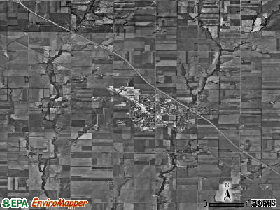 Zip code 67062 satellite photo by USGS