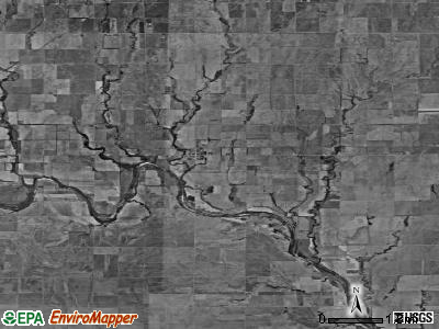 Zip code 67105 satellite photo by USGS