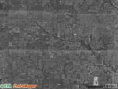 Zip code 67133 satellite photo by USGS