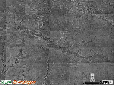 Zip code 67152 satellite photo by USGS