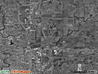 Zip code 67219 satellite photo by USGS