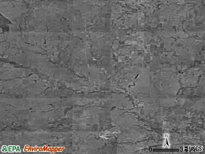 Zip code 67349 satellite photo by USGS