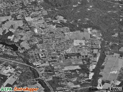 Zip code 08312 satellite photo by USGS