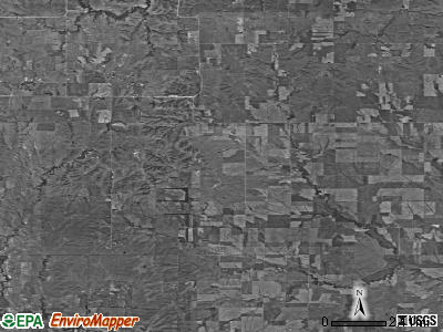 Zip code 67673 satellite photo by USGS