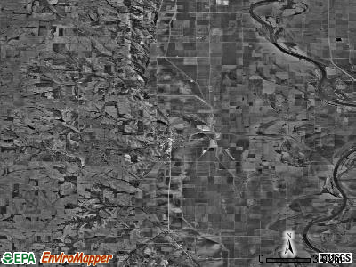 Zip code 68061 satellite photo by USGS