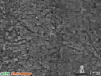 Zip code 68066 satellite photo by USGS