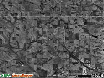 Zip code 68142 satellite photo by USGS