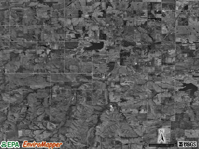 Zip code 68339 satellite photo by USGS