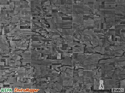 Zip code 68445 satellite photo by USGS